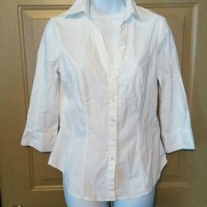 White House Black Market shirt  size 6